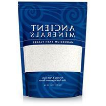 Ancient Minerals Magnesium Bath Flakes, 8lb