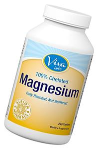Viva Labs Magnesium Bisglycinate Chelate: Highest Level of