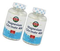 Magnesium Glycinate 400mg 180 tablets  Kal 180 Tabs