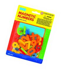 megcos Magnetic Numbers in a Blister Card, 37-Piece