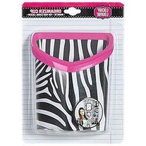 Locker Lounge Magnetic Organizer Cup Black & White Zebra