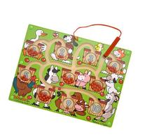 Melissa & Doug Magnetic Wand Number Maze - Wooden Puzzle