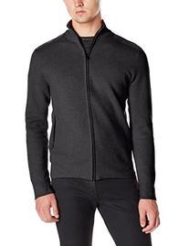 Victorinox Men's Mahale Full Zip Sweater, Charcoal, Small