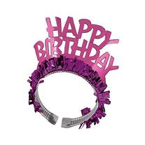 Amscan Majestic Happy Birthday Tiara Party Wearable Favors