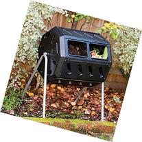 Making Compost.Tumbler Composter.Tumbling Composter.Worm