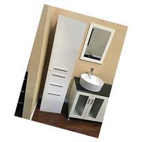 Design Element Malibu 70 in. Linen Cabinet