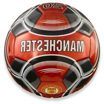 Vizari Manchester Soccer Ball, Red