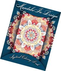 Mandala In Design Mystical Coloring Book  (Volume