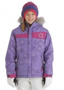 Girls Mannual Gidget Puffy Jacket