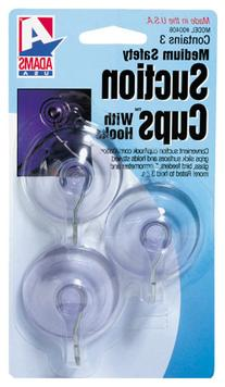 Adams Manuf. 6500-74-3040 3 Count 1.75 in. Suction Cup With