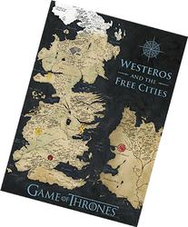 Game Of Thrones Coloured Map Canvas Banner Stretched Canvas