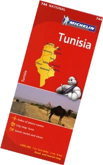 Michelin Map Africa Tunisia 744