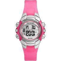 Marathon by Timex Unisex Digital Mid-Size Watch, Pink Resin