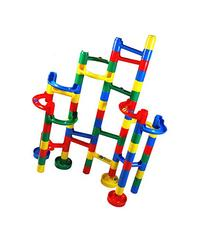 Marble Madness Marble Run - 60 Pc. Set