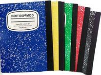 Marbled Composition Notebooks College Ruled 100 Page 5color-