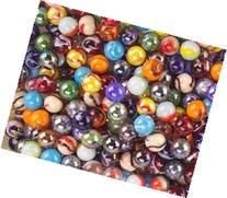 Mega Marbles Player Marbles , Assorted, 5/8