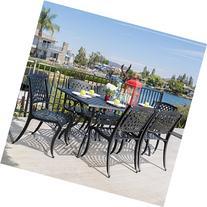 Great Deal Furniture Marietta   7 Piece Cast Aluminum