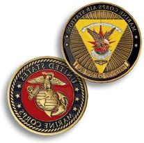 Marine Corps Air Station Cherry Point, NC Challenge Coin