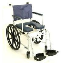 "Mariner Rehab Shower Commode Wheelchair Folding 18"" by"