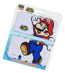 Mario Rubber Coating Cover for Newnintendo3dsll