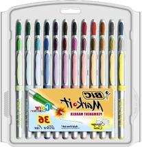 BIC Marking Permanent Marker Fashion Colors, Ultra Fine