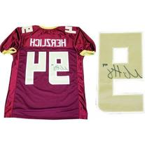 Mark Herzlich Autographed Signed Boston College Jersey