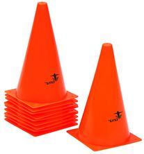 "Cintz 9"" Orange Field Cone Markers, Set of 10"