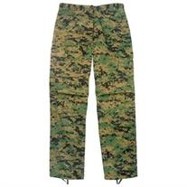 MARPAT BDU Pants, Marines Style Woodland Digital Camo