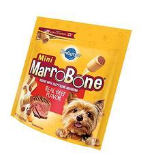 PEDIGREE MARROBONE Real Beef Flavor Mini Snacks for Dogs 15