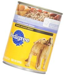 Pedigree Puppy Chopped Ground Dinner with Chicken and Beef