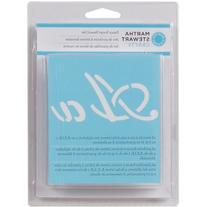 Plaid:Craft - Martha Stewart Alphabet Stencil 48/Pkg - Fancy