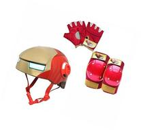Marvel Iron Man Bike Helmet with Pad Set