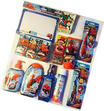 Marvel Spider-Man 15 Piece Bath Gift Set: Dry-Erase Reminder