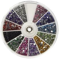 350Buy Rhinestones 2400 Piece 12 Color Nail Art Nailart
