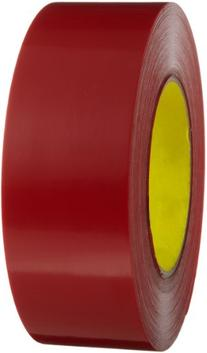 3M Outdoor Masking Poly Tape 5903 Red, 48 mm x 54.8 m