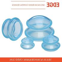 EDGE Cupping Therapy Sets - Silicone Vacuum Suction Cupping