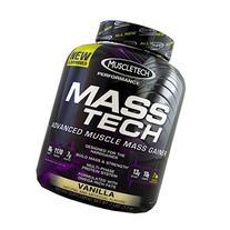 Muscletech Masstech Performance Supplement, Vanilla, 7 Pound