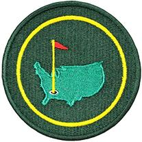 Masters PGA Championship Iron on Patch
