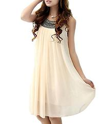 MTRNTY Women's Maternity Casual Chiffon Summer Dress 1001,