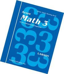 Math 3 Home Study Kit