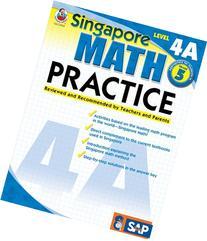 Singapore Math Practice, Level 4A, Grade 5