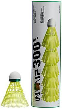 Yonex Mavis 300 Yellow Nylon Shuttlecocks 1/2doz