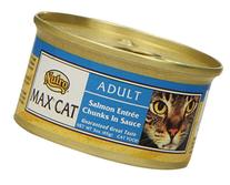 NUTRO MAX CAT Adult Salmon Entree Chunks in Sauce Canned Cat