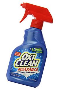 OxiClean Max Force Laundry Stain Remover Spray 12 ounce