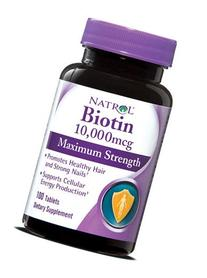 Natrol Max Strengt Biotin, 10000mg