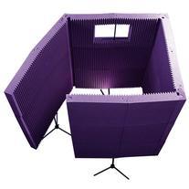 Auralex MAX1141VBPUR MAX-Wall 1141 Vocal Booth in PUR; 11-