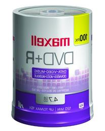 Maxell 4.7GB  100 Per Spindle DVD+R Disc
