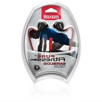 Maxell Pure Fitness Ear bud with Mic - Stereo - Wired -