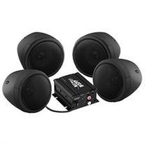 BOSS AUDIO MCBK470B Black 1000 watt Motorcycle ATV Sound