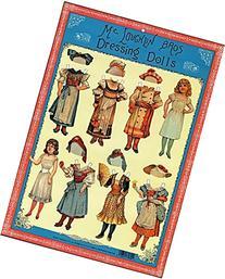 McLoughlin Bros. Dressing Dolls Paper Dolls Embossed Sheet 2